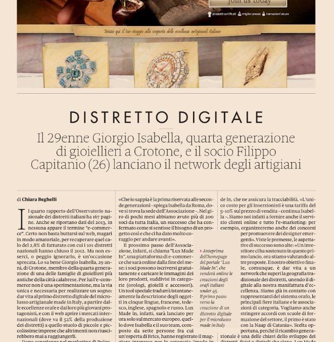 Lux ✮ Made ✮ In, il primo distretto digitale del gioiello artigianale italiano