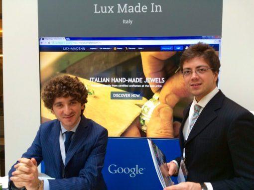 Google porta Lux Made In a Bruxelles