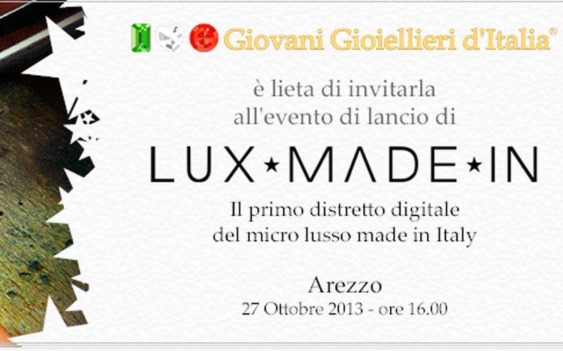 Nasce Lux Made In, il primo distretto digitale del micro lusso made in Italy