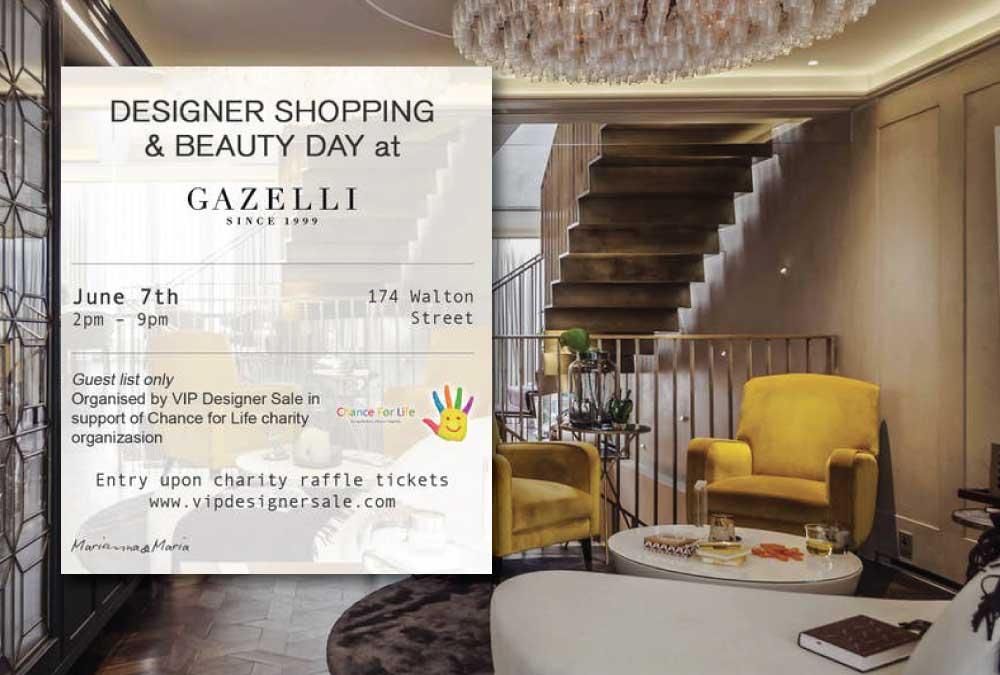 Designer Shopping & Beauty Day. Partecipa a un'esclusiva Private Sale nel cuore di Londra
